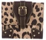 Dolce & Gabbana Animalier Leopard Wallet
