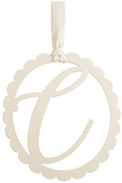Mud Pie Scalloped Initial Wall Hanger - C