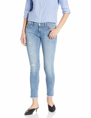 SIWY Women's Sara Low Rise Skinny Jeans in The Look of Love 30