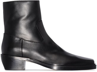 Gia Couture x Pernille Teisbaek 60mm ankle boots