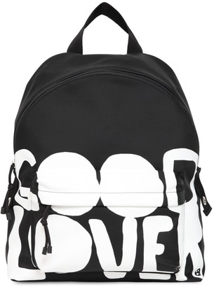 Valentino Good Lovers Printed Nylon Backpack