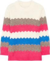 Nikolai wool-blend intarsia sweater