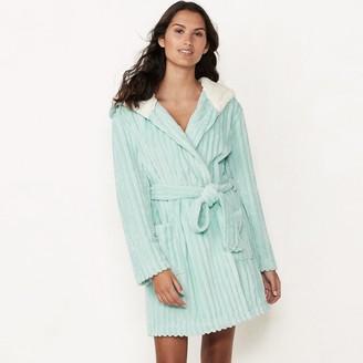 Lauren Conrad Women's Textured Robe