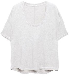 Rag & Bone Marlon Melange Modal-blend T-shirt
