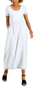 Style&Co. Style & Co Petite Seamed-Waist Maxi Dress, Created for Macy's