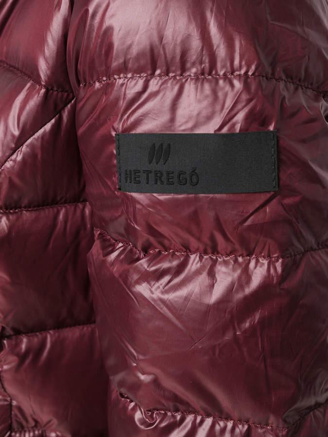 Hetregó zipped padded jacket