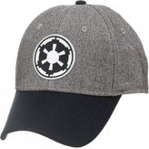 Star Wars Baseball Cap Imperial Logo Gray/Black Flex Cap New bk1qyjstw