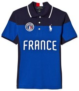 Ralph Lauren Navy France Polo Top