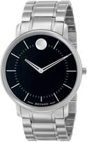 Movado Men's 0606687 TC Stainless Steel Case and Bracelet Dial Minute Tracker Watch