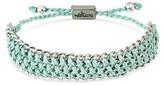 "Wakami Women's Bracelet Single Wide Strand - Mint (6.5"")"
