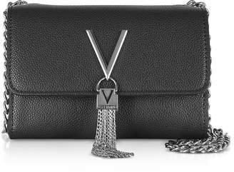 Mario Valentino Valentino By Lizard Embossed Eco Leather Divina Mini Shoulder Bag