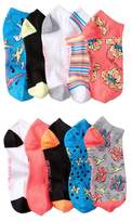 Betsey Johnson Birds Low Cut Socks - Pack of 10