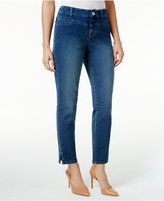 Style&Co. Style & Co Split-Hem Bliss Wash Skinny Jeans, Only at Macy's