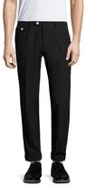 Michael Bastian Cotton Spot Flat Front Trousers