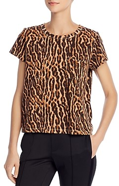 Pam & Gela Animal Print T-Shirt