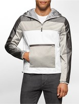 Calvin Klein One Colorblock Hooded Anorak Jacket