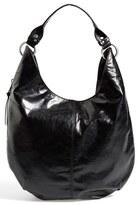 Hobo 'Gardner' Leather Shoulder Bag - Black
