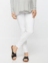 A Pea in the Pod Paige Denim Side Panel Skinny Maternity Jeans