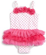 Little Me Infant Girl's One-Piece Tutu Swimsuit