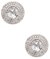Ef Collection Jumbo Topaz Stud Earrings