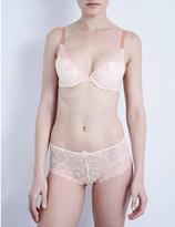 Passionata White Nights mesh push-up bra