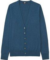 Uniqlo Women's Extra Fine Merino Wool V-Neck Cardigan