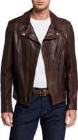 Schott NYC Men's Lambskin Leather Jacket