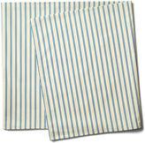 Maison Du Linge Stripe Tablecloth, Blue/Ecru