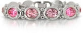 Forzieri Pink Crystals Bracelet