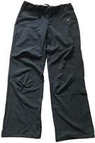 Nike Black Cotton Trousers