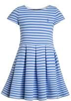 Polo Ralph Lauren STRIPE PONTE DRESSES Jumper dress harbor island blue/white