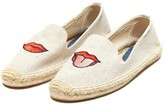 Sole Society Embroidered Smoking Slipper Embroidered Espadrille