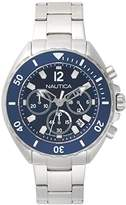 Nautica Men's 'NEW PORT' Quartz Stainless Steel Casual Watch