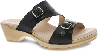 Dansko Slip- On Leather Sandals - Karena