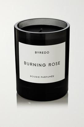 Byredo Burning Rose Scented Candle, 240g - Black