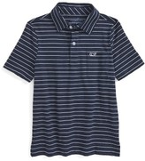 Vineyard Vines Toddler Boy's Open Feeder Stripe Polo