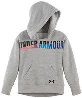 Under Armour Girls 2-6x Favorite Logo Graphic Fleece Hoodie