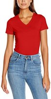 Fruit of the Loom Women's V-Neck T-Shirt,8 (Manufacturer Size:X-Small)