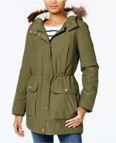 Tommy Hilfiger Faux-Fur-Trim Hooded Parka, Only at Macy's
