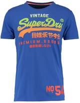 Superdry Premium Goods Lite Print Tshirt Nautical Blue