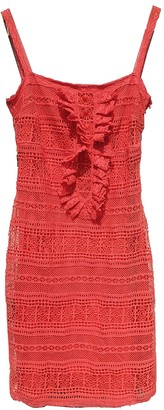 Collette Dinnigan Red Silk Dress for Women
