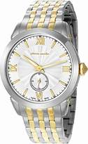 Pierre Cardin Radieux Men's Quartz Watch with Silver Dial Analogue Display and Multicolour Stainless Steel Bracelet PC105301S07