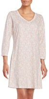 Carole Hochman Relaxed Fit Cotton Jersey Dress