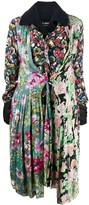 Thumbnail for your product : Junya Watanabe Floral Panelled Coat