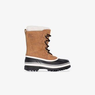 Sorel brown Caribou leather boots
