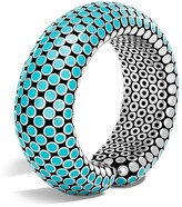 John Hardy Sterling Silver Dot Flex Cuff in Turquoise - 100% Exclusive