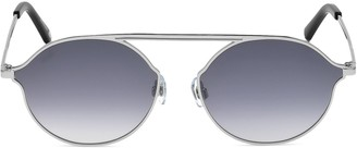 Web 57MM Round Metal Sunglasses