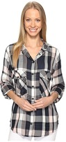 Sanctuary Boyfriend Shirt Women's Long Sleeve Button Up