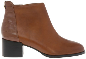Trent Nathan Christa Tan Cow Leather Boot