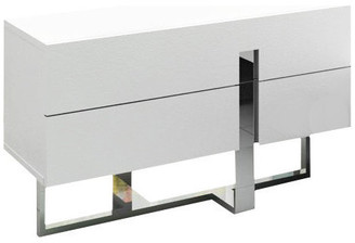 VIG Furniture Modrest Voco White Bedroom Nightstand
